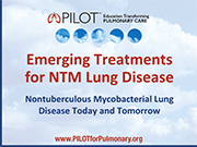 Emerging Treatments for NTM